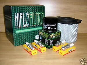 GSX600F 90-95 Service Kit GSX 600 600F Air Filter Oil Filter Spark Plugs