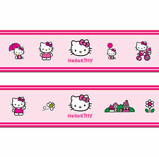 Hello Kitty Self Adhesive Decorative Wall Border - 5 metres in total
