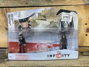 Disney Infinity Lot Lone Ranger Playset 3n1 Crystal Syndrome & Chips New Sealed
