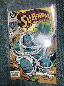 Superman Man of Steel #18 (1st full app. of Doomsday) newsstand