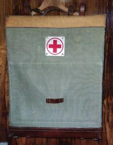 Schweizer Militär Armee Rucksack Tasche 1967 Vintage Sanitär