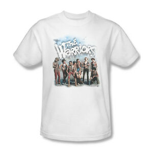 The Warriors T-shirt Free Shipping classic 1970s movie cotton white tee PAR498