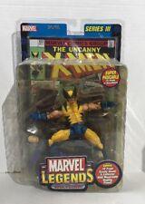 WOLVERINE Marvel Legends Series 3 III X-Men action figure with Comic Book NEW!