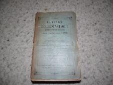 1899.La France ecclésiastique.Almanach annuaire du clergé.xx