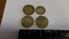 Canada  4 coins -- Silver