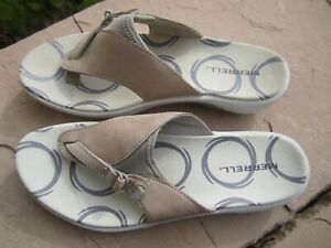Merrell Women's Gardena Thong Sandals Color Taupe Size 7 NEW WITHOUT BOX
