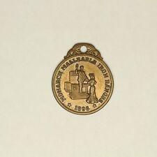 Monarch Temperguss Ranges 1896 Münze Taschenuhr Schlüssel Messing 3 Generationen