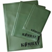 A6 A5 A4 Waterproof Folder Military Army 20 Page Cadet Nirex Orders Notebook UK