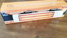 Réglette de Chauffage électrique à Infra Rouge 1200 w DREXON
