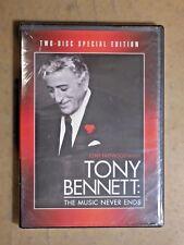Tonny Bennett - The Music Never Ends NEW Unopened