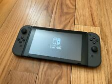 Nintendo Switch Console Bundle with Gray Joy‑Con