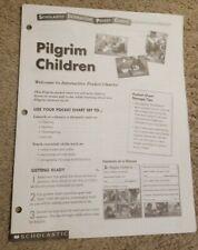 Scholastic Pilgrim Children Interactive Teacher Pocket Charts