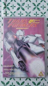 Trans Formers Generation 2 - Transformers SOS Dinobots New & Sealed UK R2 DVD