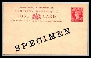 GP GOLDPATH: DOMINICA POSTAL CARD _CV748_P09