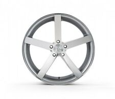 Rohana RC22 19x9.5 5x114 et20 Machine Silver Wheels Rims (set of 4)