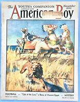 AMERICAN BOY November 1930 YOUTH'S MAGAZINE ~ Many Articles, Pictures & Ads