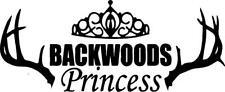Backwoods Princess Decals