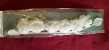 Wedding Floral Sprays Wilton White Fabric Apple Blossom Craft Supplies Lot of 10