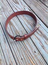 "Vintage Issey Miake Leather Belt 32"""