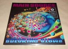 "Main Source Breaking Atoms Sealed LP Colored Vinyl w/ Bonus 7"""