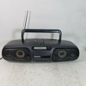 Panasonic RX-D545 Portable Stereo Boombox Cd and Radio only,Tape deck don't work