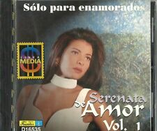 Serenata De Amor Volume 1 Solo Para Enamorados Latin Music CD New