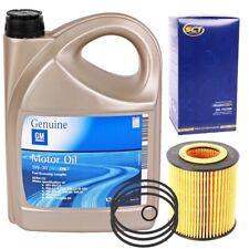 SCT ÖLFILTER + OE OPEL GM 5W-30 dexos2 ACEA C3 Motoröl 5W30 5 Liter 93165557