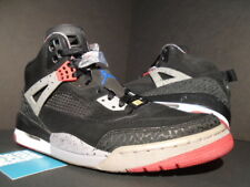 NIKE AIR JORDAN SPIZIKE BLACK FIRE RED CEMENT GREY MILITARY BLUE 315371-062 10.5