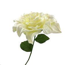 Cream Foam Jumbo Flower Leaf Backdrop Wall Decor Center Piece Wedding Bridal