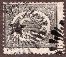 SWEDEN, LX1, 1sk City Postage, used w/starburst cancel  1856