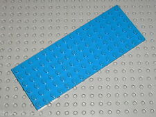 Plaque plate Blue 6 x 16 LEGO ref 3027 / set 6977 1923 358 7838 726 565 4563 ...