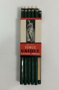 Venus Colored Pencil 11 Pack Green 1208 NIP New Deadstock American Co USA Made