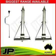 PAIR TRAILER PARTS CORNER LEGS WIND DOWN CARAVAN CAMPER TRAILER STABILIZER LEG