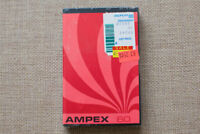 Ampex 350 C-60.(1) SEALED BLANK AUDIO CASSETTE TAPE. NEW RARE 1972'