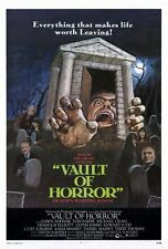 VAULT OF HORROR Movie POSTER 27x40 Terry-Thomas Curt Jurgens Glynis Johns Dawn