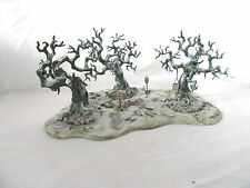 Warhammer 40k Citadel Woods Scenery Winter. Custom Painted By Pizzazz