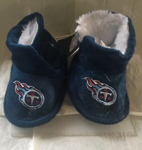 Tennessee Titans Toddler Boot Bootie Slippers NEW - Free U.S.A. Shipping