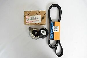 TOYOTA Tundra 2007-2021 TENSIONER and DRIVE BELT Kit 9091602680 & 166200S012