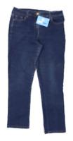 Womens M&Co Blue Denim Jeans Size 12/L26