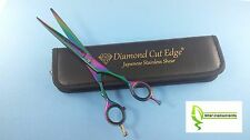 """Pet Dog Grooming Scissors Shears 8.5"""" Professional Japanese Stainless STRAIGHT"""