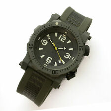 NEW 45.5MM $500 REACTOR SS/POLYMER TITAN GREEN ND DIAL 200M DIVE WATCH #43809 NR