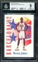 Michael Jordan USA Card 1991-92 Skybox #534 BGS 9 (10 9.5 9.5 8.5)