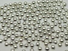 10000 Metallic Silver Flatback Round Tiny Half Pearl 2mm Scrapbook Nail Art