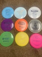 9-used Legacy Disc Golf Discs
