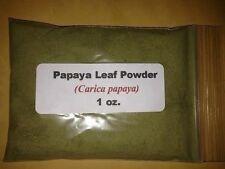 1 oz. Papaya Leaf Powder (Carica papaya)