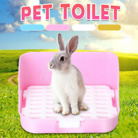 Rectangle Pet Cavy Rabbit Pee Toilet Potty Small Animal Hamster Litter Tray  G
