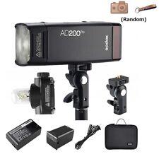 Godox AD200Pro TTL 2.4G Pocket Camera Flash for Nikon Canon Sony Fuji Olympus