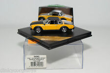 . VITESSE 049C 049 C FIAT 124 SPIDER SPORT ABARTH STRADALE YELLOW MINT BOXED