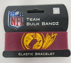 Washington Redskins Bulk Bandz Elastic Wrist Band Bracelet