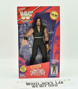 The Undertaker Talking Figure WWF MISB 1997 Playmate Toys Action Figure